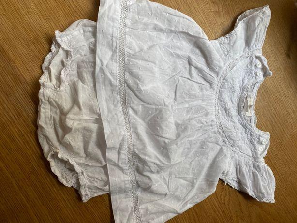 Biała sukienka Zara Home idealna na chrzest