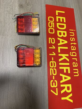 Задний фонарь светодиодный Led для прицепа стоп, габарит, поворот