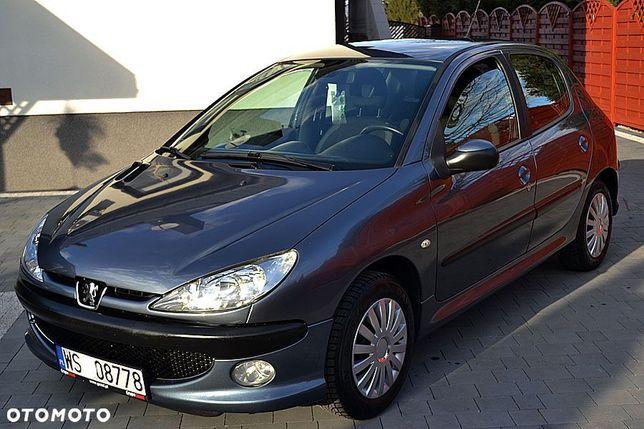 Peugeot 206 Lift 112 Tys. Km 1.4 B 75 KM Stan Bardzo dobry