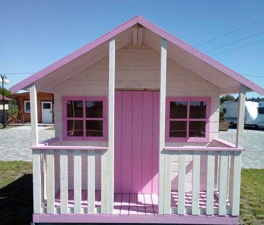 PROMOCJA!!-20% Ogrodowy drewniany domek BAMBI dla dzieci