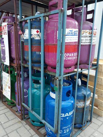 Wymiana butli gazowej propan-butan 11kg