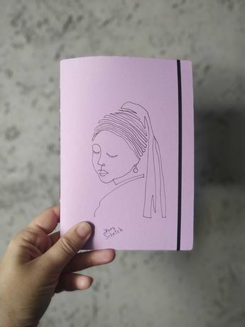 Скетчбук, блокнот для маркеров ручной работы