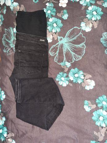 Czarne spodnie ciążowe