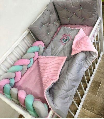 Бортики-захист в ліжечко
