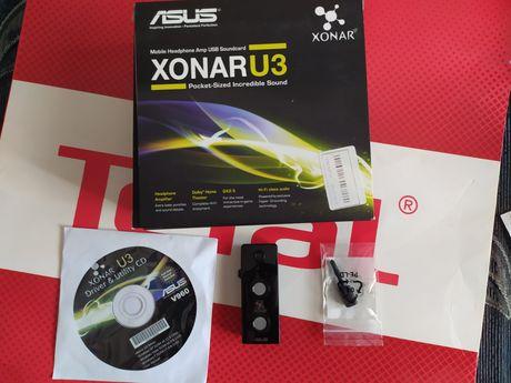 Внешняя звуковая карта USB ASUS Xonar U3 на гарантии!