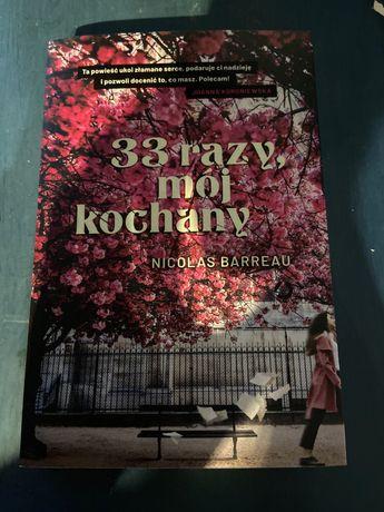 33 razy, mój kochany Nicolas Barreau