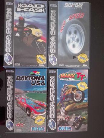 Jogos e comandos para Sega Saturn