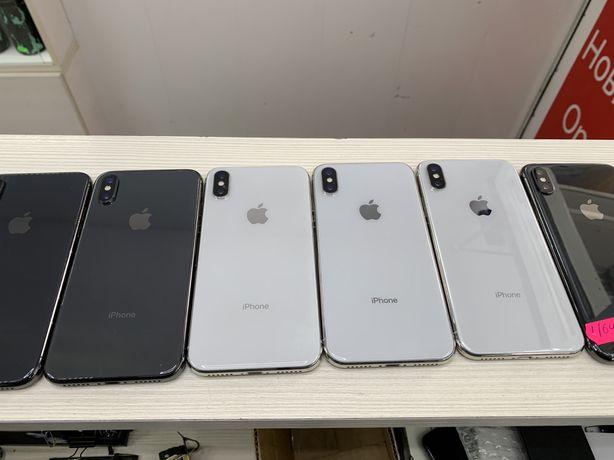 Продам ОПТ iPhone X 64 gb Silver/Space NeverLock Магазин