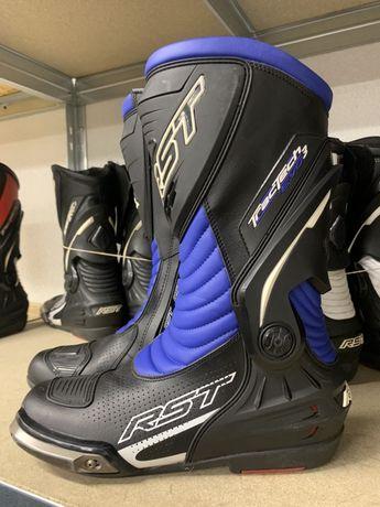 Buty motocyklowe RST Tractech evo 3 rozmiar 43 - niebieskie
