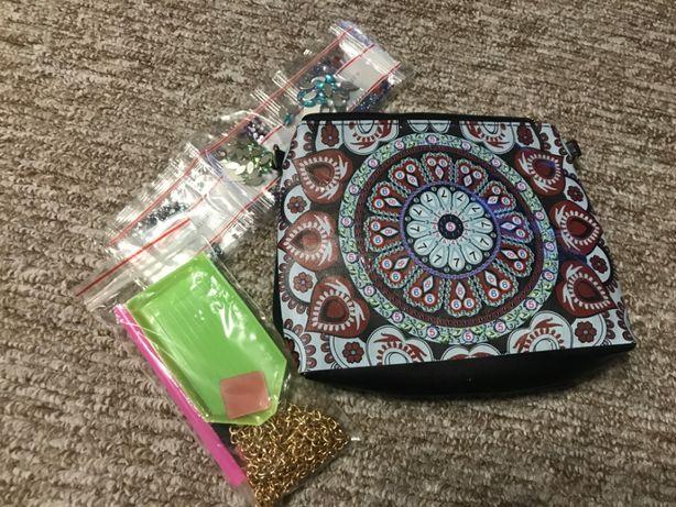 Алмазная вышивка сумочка