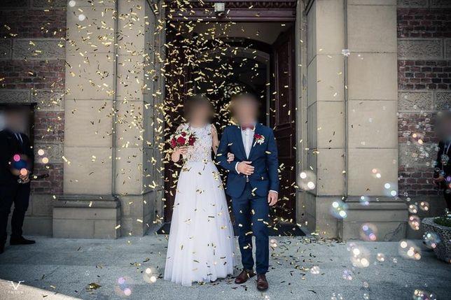 Suknia ślubna rozmiar 34-36 Ślub