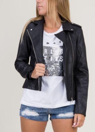 Кожаная куртка,косуха Kiabi