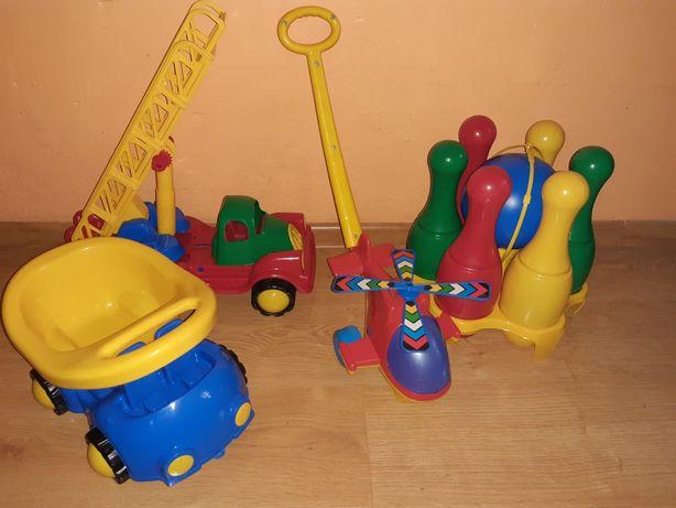 Zestaw dużych zabawek