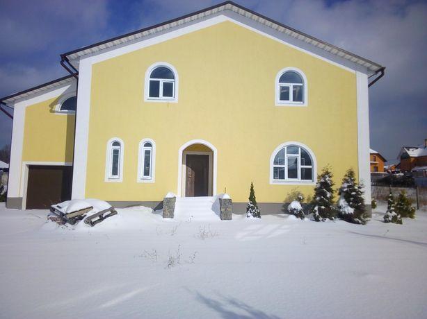 Продам дом в Хотове 2 км от Киева 320 м 12 с под отделку ул.Молодежная