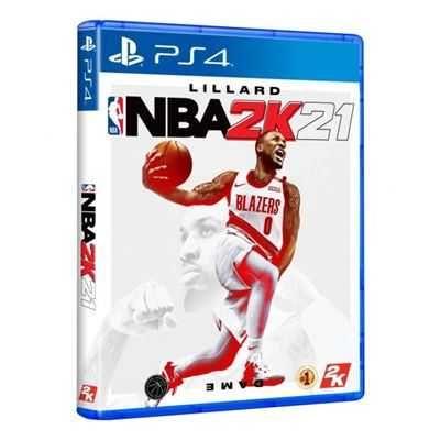 Jogo PS4 NBA2K21 (NOVO)