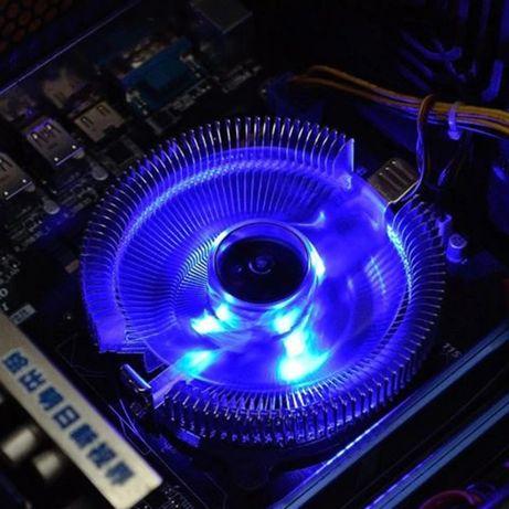 Светодиодный кулер для процессора