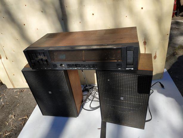 UNITRA diadora amator stereo głośniki Tonsil zestaw retro hifi