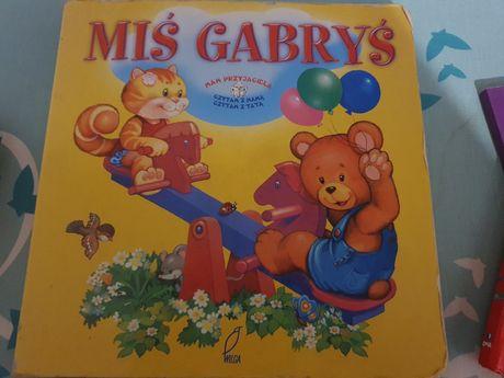 Książeczka Miś Gabryś do nauki czytania