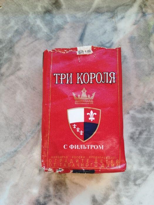 Stara Paczka po papierosach TRZY KORONY i RADOMSKIE - Kolekcjonerska Kręćkowo - image 1
