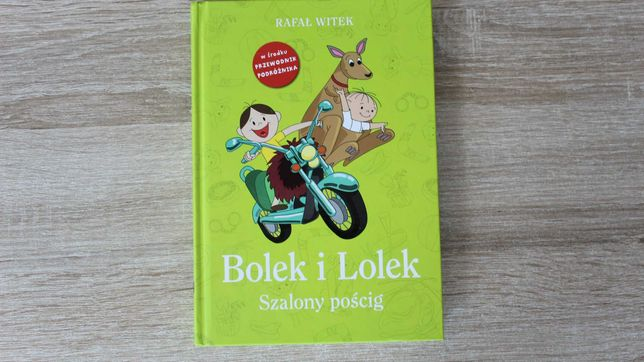 Bolek i Lolek Szalony Pościg, Rafał Witek