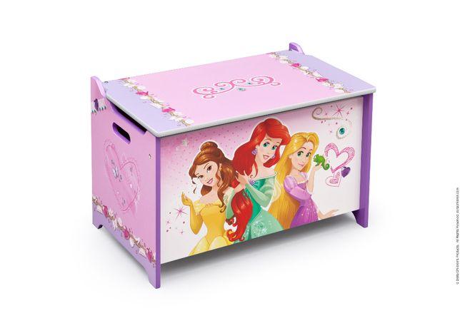 Caixa de arrumação Princesas