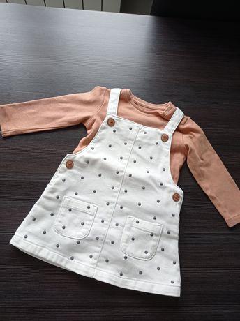 Sukienka +body rozm. 68