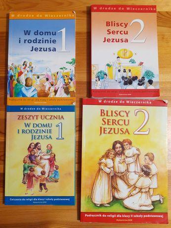 Podręczniki do religii, klasa 1 i 2 SP- starsze wydania