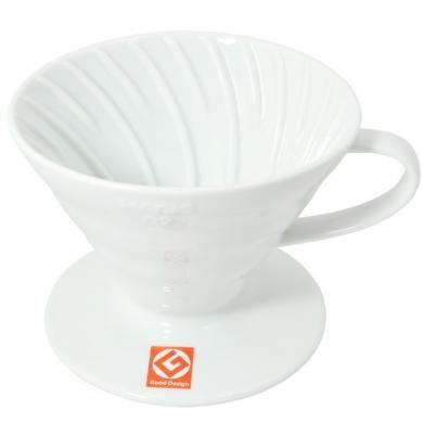 Пуровер Hario V60 02 белый керамический на 1-4 чашки