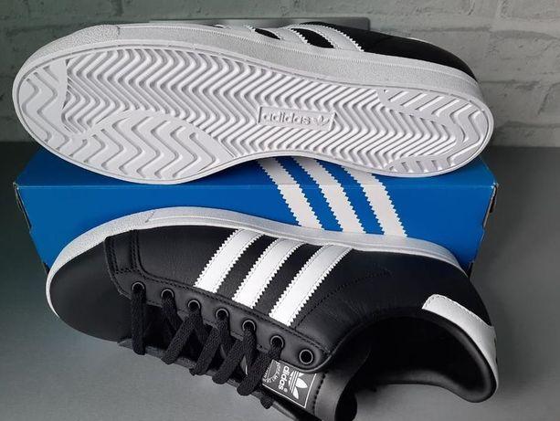 Adidas Оригинал Новые Кожаные Кроссовки Кеды Размер 45