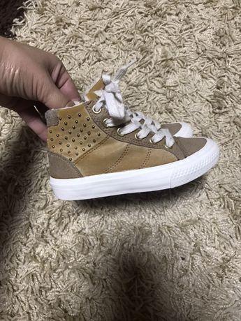 Zara girls осенние ботинки
