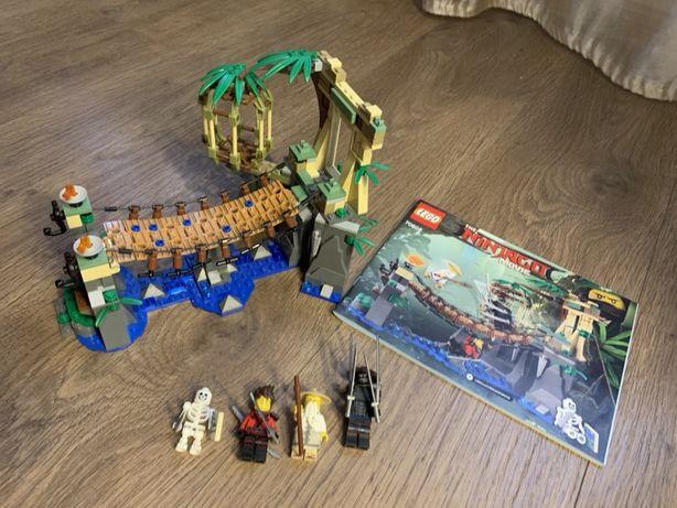 Lego The Ninjago Movie 70608 - Битва Гармадона и Мастера Ву