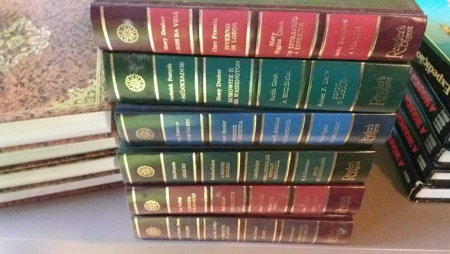 Livros Reader's Digest de coleção