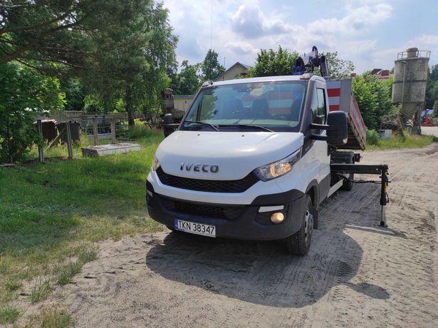 Iveco Daily 35C150 rok 2015 wywrotka + HDS PM25 HAK