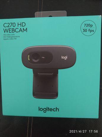Продам вебкамеру логитеч C270HD