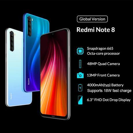 Xiaomi Redmi Note 8 4/64 = 13800 ₽