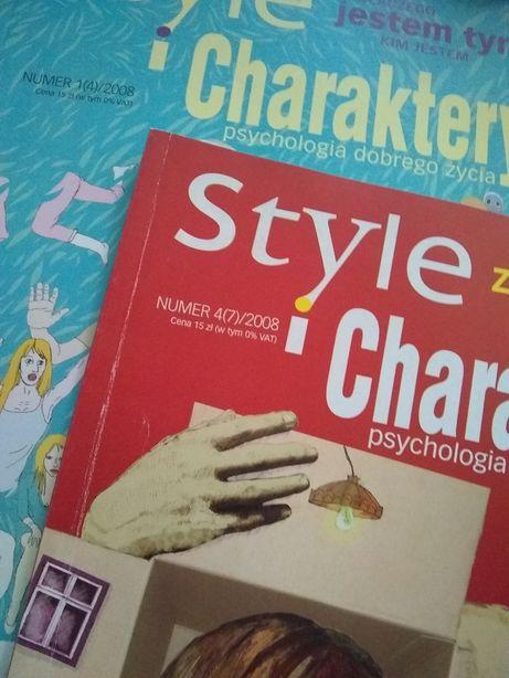 "Archiwalne nr czasopisma ""Style i charaktery"" - nr 1 i 4.2008"
