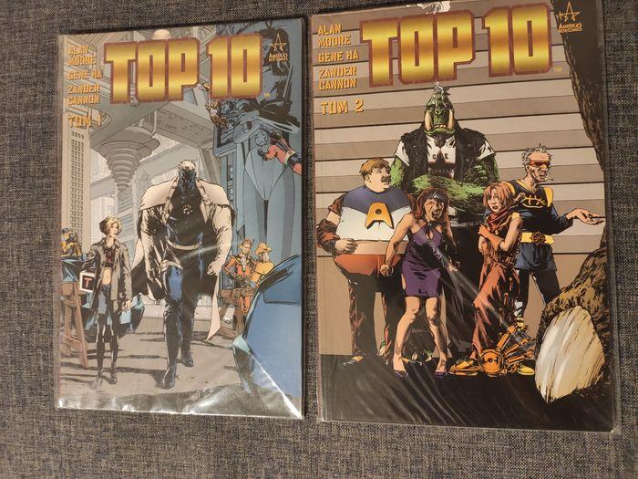 Top 10 tom 1 i tom 2 nowe komiksy Piotrków Trybunalski - image 1
