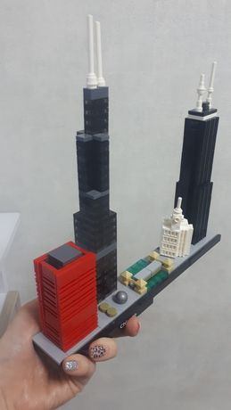 Конструктор Bela Архитектура Чикаго (аналог Lego Architecture)