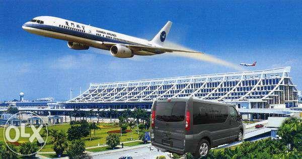 Przewozy Transport osób-lotnisko Berlin