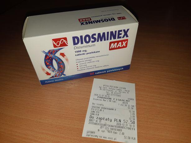 Tabletki Diosminex Max 1000mg