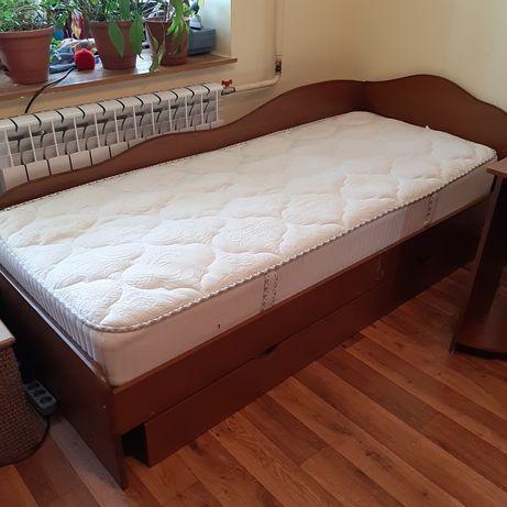 Кровать, ліжко,  односпальная.