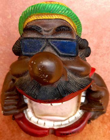 Cinzeiro ou porta joias rastafari Jamaica