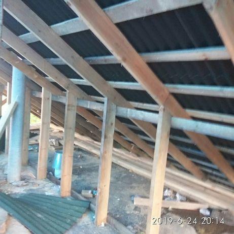 Покрівельні роботи, ремонт криші , фарбування дахів