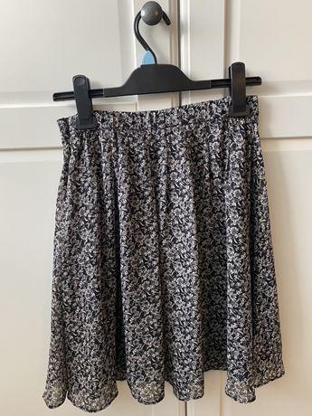 Dłuższa spódnica w kwiatki H&M