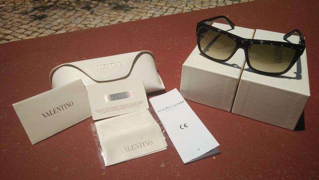 VALENTINO 606S Óculos de Sol Dark Havana