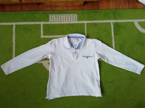 bluzka biała Lincoln & Sharks rozmiar 140