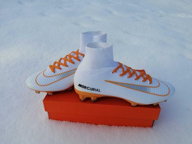 Футбольні бутси Nike Mercurial superfly v fg 42(26,5см)