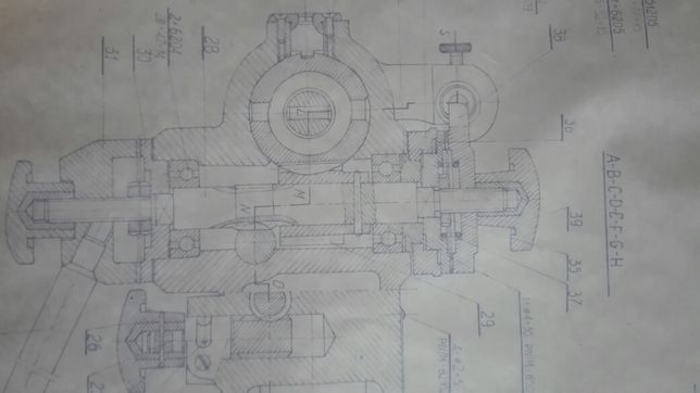 Wiertarka stołowa WS 15 -/rys.tech./