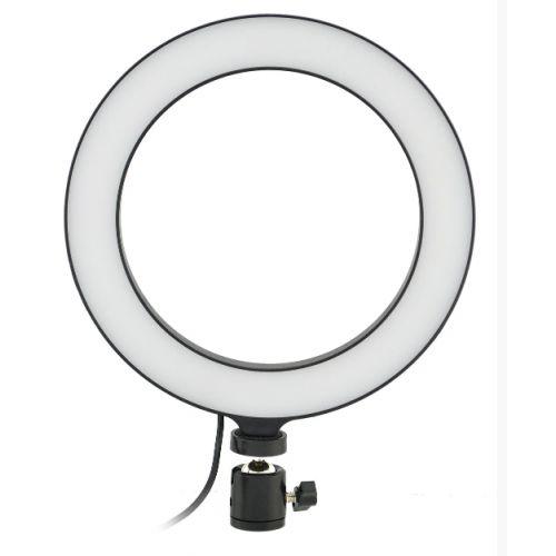 Кольцевая LED лампа 20 см селфи кольцо для блогера Сумы - изображение 1