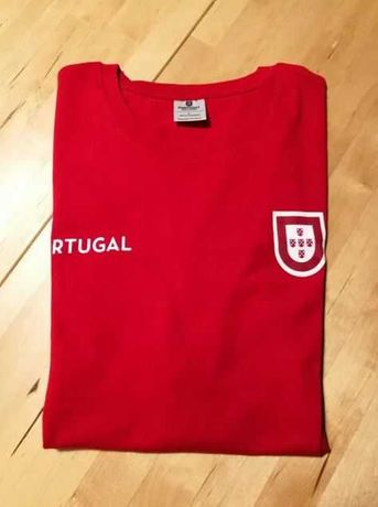 T-shirt homem Seleção Euro Portugal M - Nova